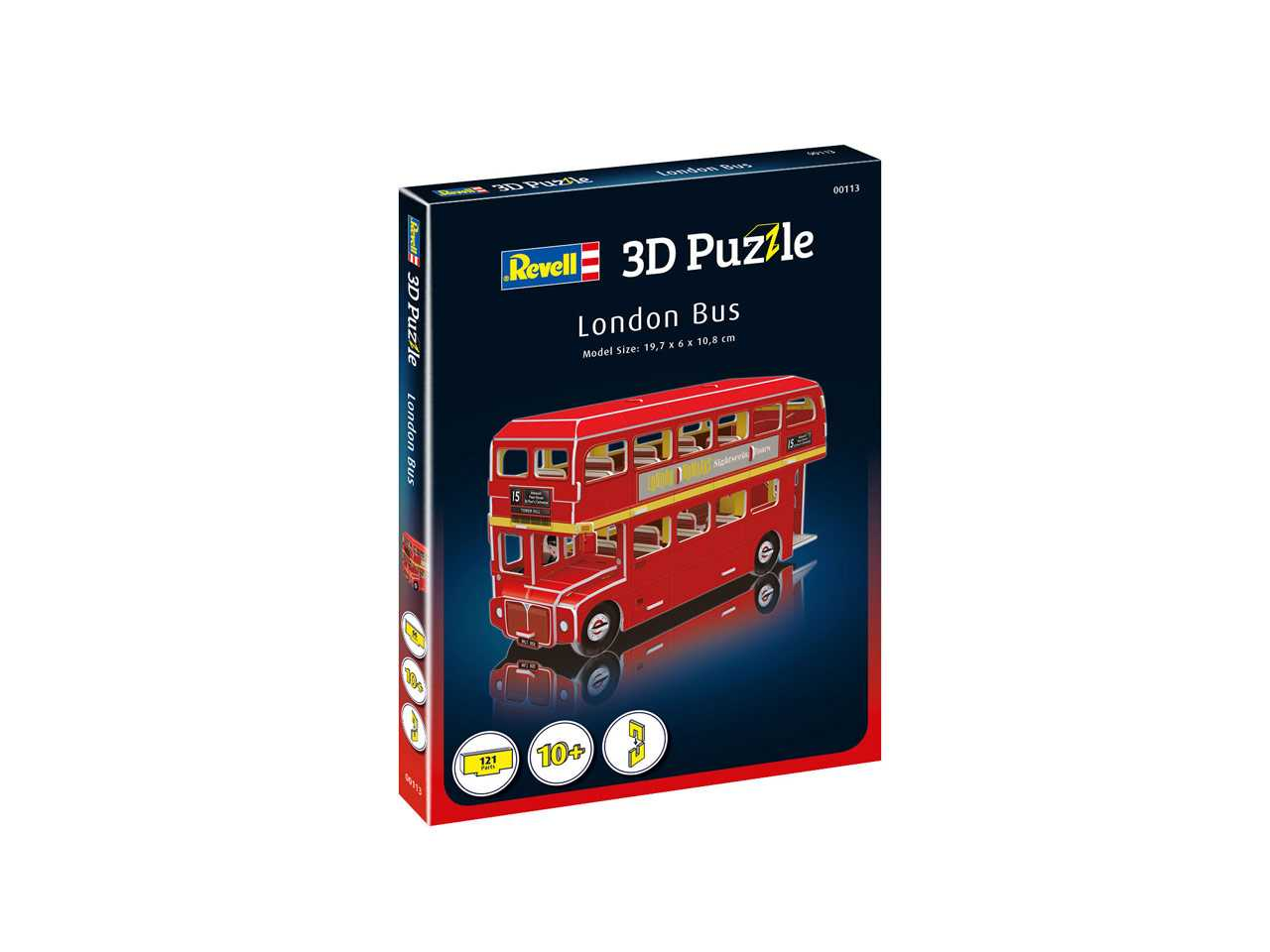 3D Puzzle REVELL 00113 - London Bus