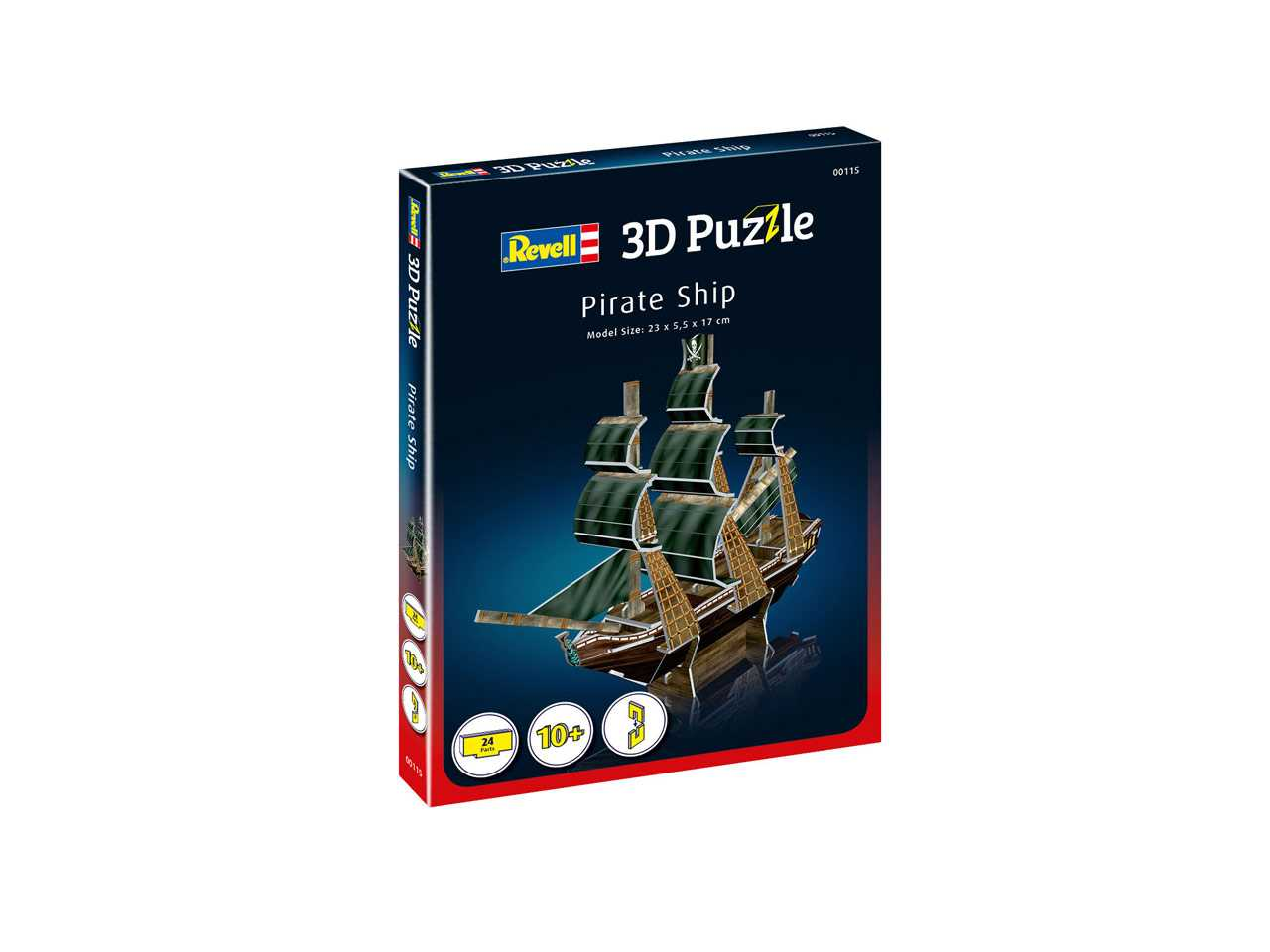 3D Puzzle REVELL 00115 - Pirate Ship