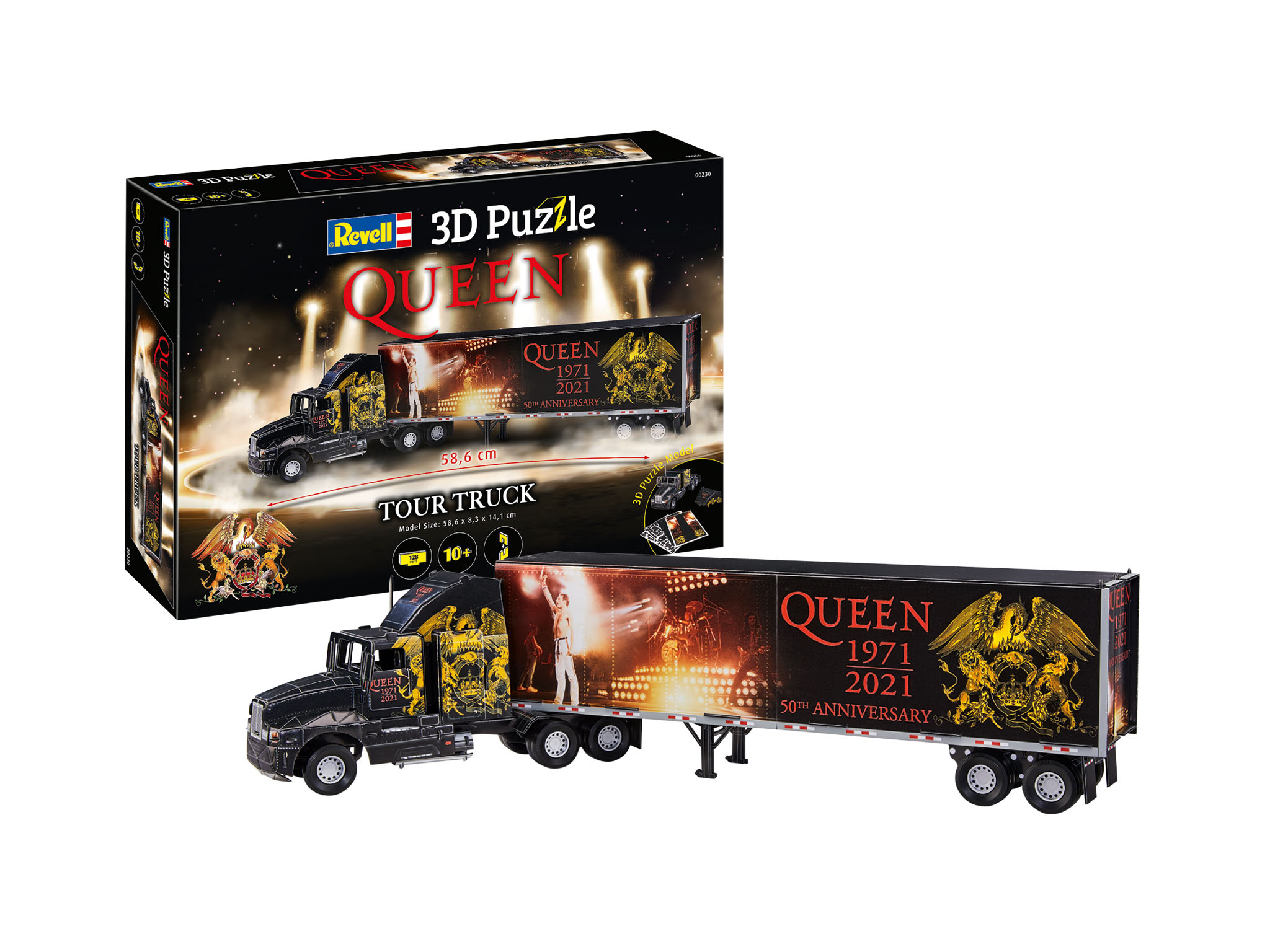3D Puzzle REVELL QUEEN Tour Truck - 50th Anniversary